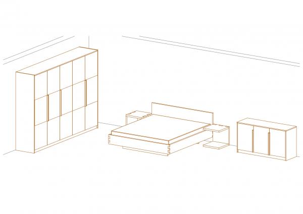 3D Carezza Schlafzimmer